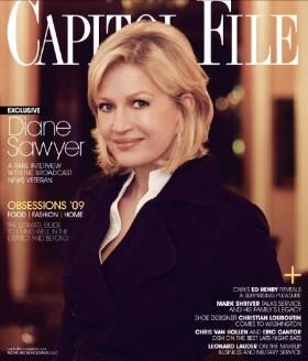 Diane Sawyer Cap File Cover