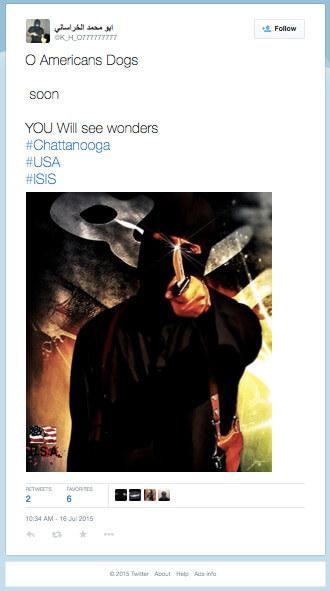 Chattanooga-tweet wrong