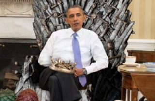 obama iron throne