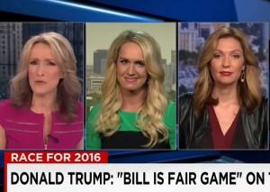 cnn panel is bill clinton sexist or like women