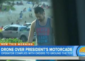 obama hawaii motorcade drone laid back easy goin shirt