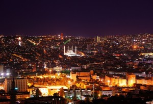View_over_Ankara_at_Night