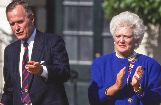 George & Barbara Bush (Shutterstock)