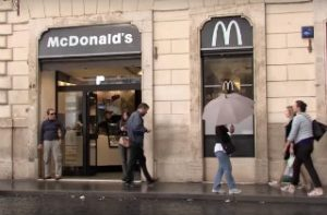 Vatican McDonald's (Catholic News Agency YouTube screen grab)