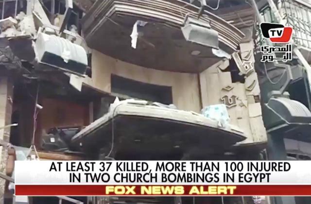 egypt coptic church bombings