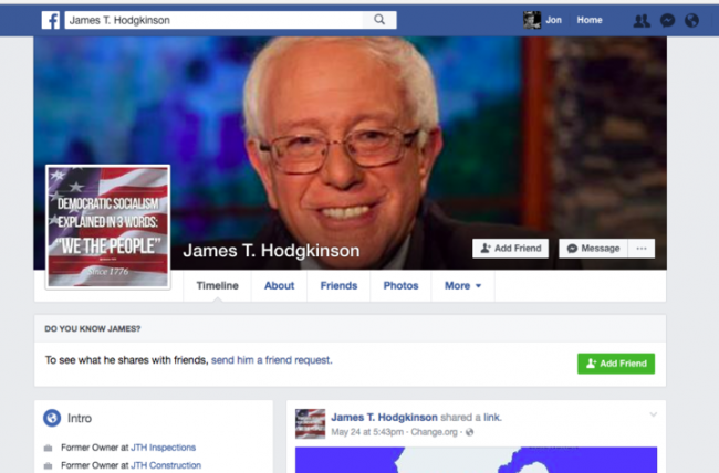 hodgkinson facebook page