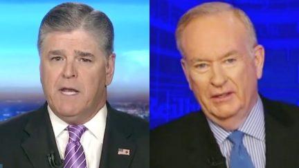 Bill O'Reilly and Sean Hannity