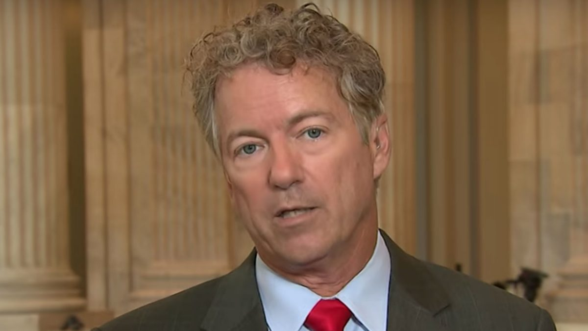 U.S. Senator Rand Paul test positive for coronavirus