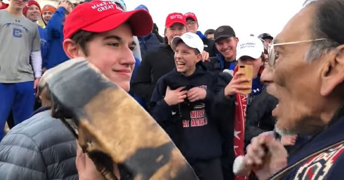 Nick Sandmann Rips Lin Wood After Pence 'Execution' Tweet