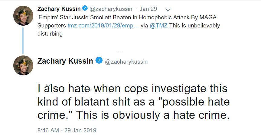 Zachary Kussin - New York Post