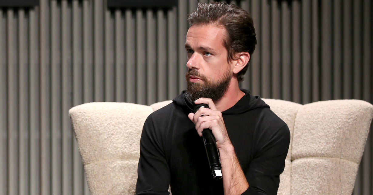 Nicholas Thompson and Jack Dorsey speak onstage at WIRED25 Summit on October 15, 2018 in San Francisco.