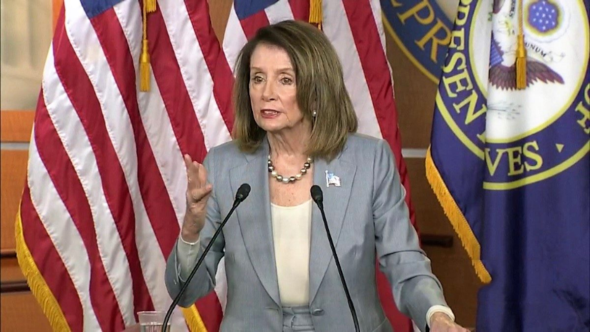 Pelosi Wants to See Trump in Jail