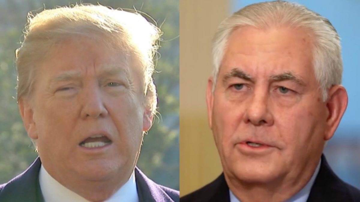 Trump Opens Fire on Ex-Secretary of State Tillerson: He 'Made Up a Story' I Was 'Out-Prepared' By Putin
