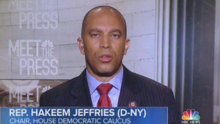 Hakeem Jeffries: Trump Plays 'Tough Guy' on TV