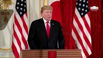 Trump Vindicates Fake Ian Bremmer Tweet by Slamming Biden and Praising Kim Jong Un