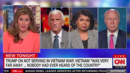 CNN Panel Rips Donald Trump's Comments on Vietnam War, Lack of Military Service