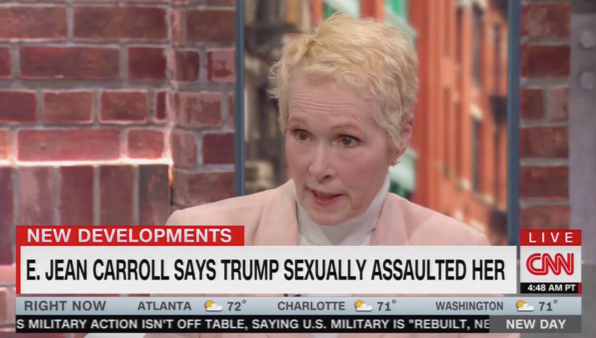 E. Jean Carroll on Trump Ejaculating