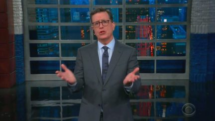 Stephen Colbert Mocks Howard Schultz 'Suspending' 2020 Campaign