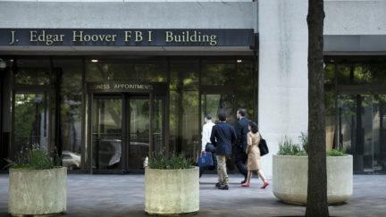 FBI Brendan Smialowski/Getty Images