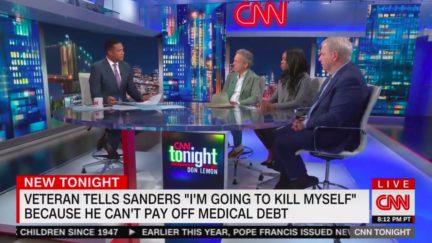 CNN Panelist Mark McKinnon Praises Bernie Sanders' 'Humanity' for Response to Veteran's Suicide Threat