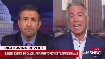 Joe Walsh Slams GOP for Canceling Primaries to Protect Trump