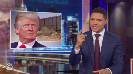 Trevor Noah Mocks Trump's Failed Pledge to Have Mexico Pay for Wall