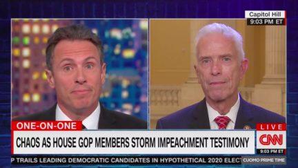 Chris Cuomo Shuts Down GOP Rep's Impeachment Spin