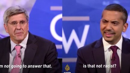 Al Jazeera Mehdi Hasan Pounds Stephen Moore On Trump's 'Racism'