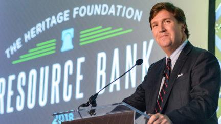 Tucker Carlson Bashes Heritage Foundation, Heritage Fights Back