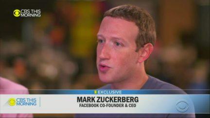 Mark Zuckerberg Dodges Question on Secret Trump Meeting