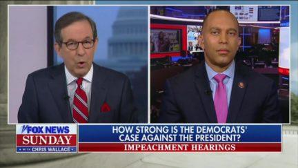Chris Wallace Grills Hakeem Jeffries on Impeachment