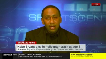 Stephen A. Smith Reflects on Death of Kobe Bryant