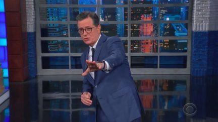 Stephen Colbert Mocks Trump's Secret Intel on Iran Bombing