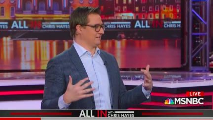 Chris Hayes Rallies Anxious Dems That Trump is Vulnerable