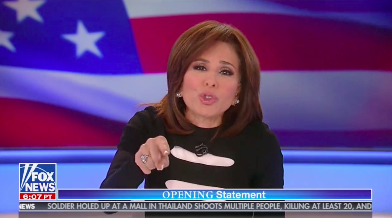 Jeanine Pirro Unleashes White-Hot Rant Against Mitt Romney