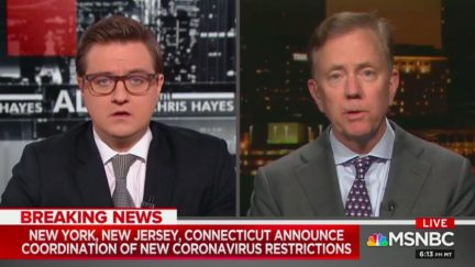 Chris Hayes Stunned When CT Gov. Ned Lamont Says 200 Nurses Sidelined Due to Lack of Testing