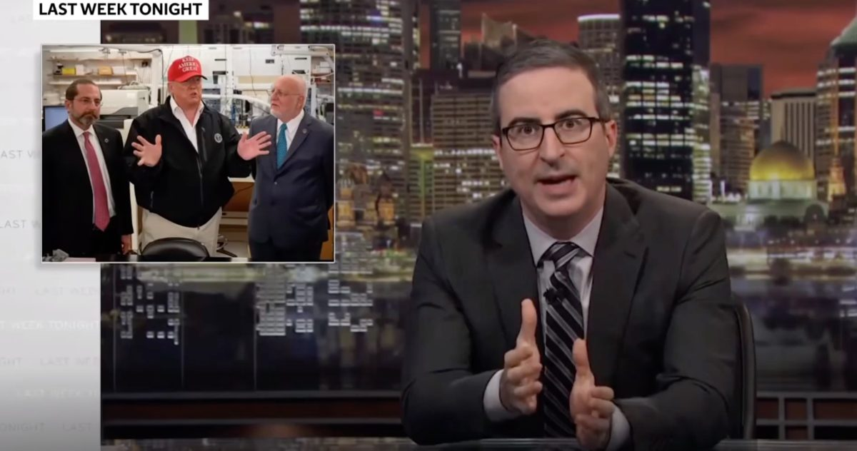John Oliver takes aim at Disney-owned streaming service over censorship claims