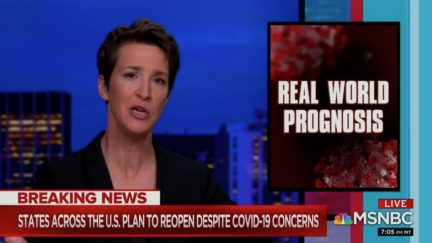 Rachel Maddow Says Conservative Media Reporting from Earth 2