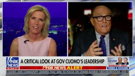 Rudy Giuliani Calls for Contact Tracing of Non-Contagious Health Issues