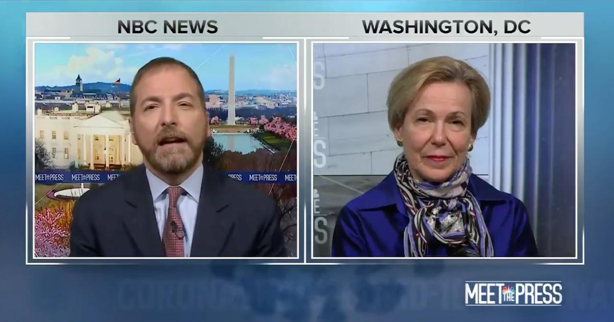 Chuck Todd on 'Meet the Press' April 26, 2020