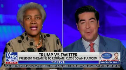 Donna Brazile Goes Off on Jesse Watters for 'Whining' About Twitter Fact-checking Trump