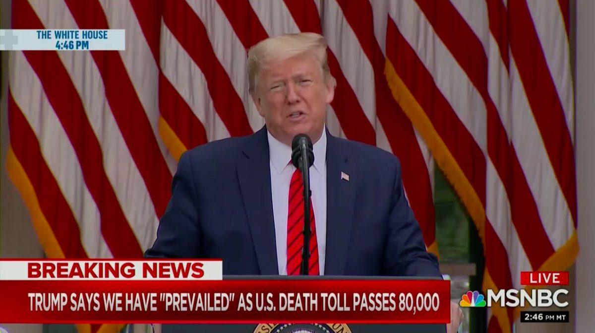 Trump Says US Has 'Prevailed' Over Coronavirus Testing