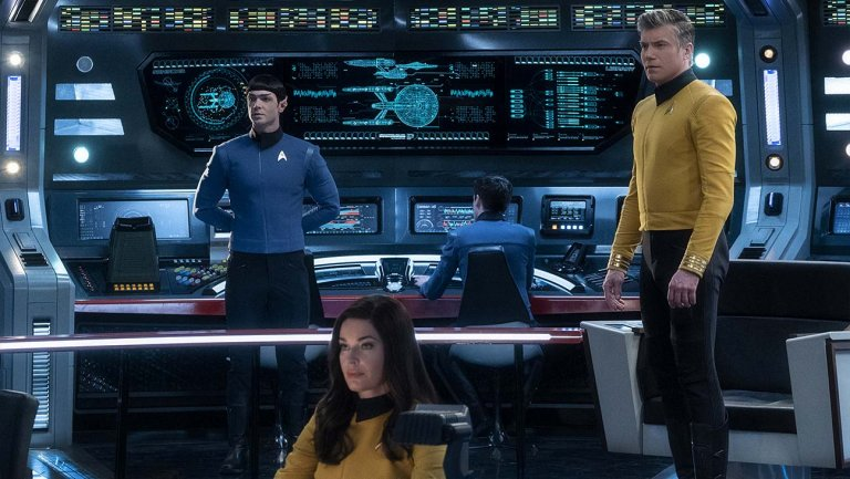 CBS All Access Orders Captain Pike Star Trek Spinoff Series