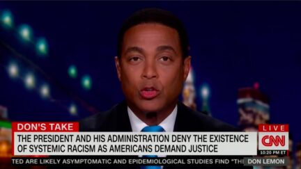 Don Lemon Calls Out WH Officials Denying Systemic Racism Exists in US