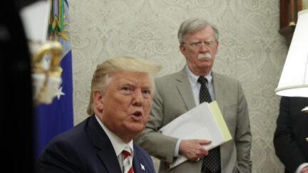 President Donald Trump, John Bolton
