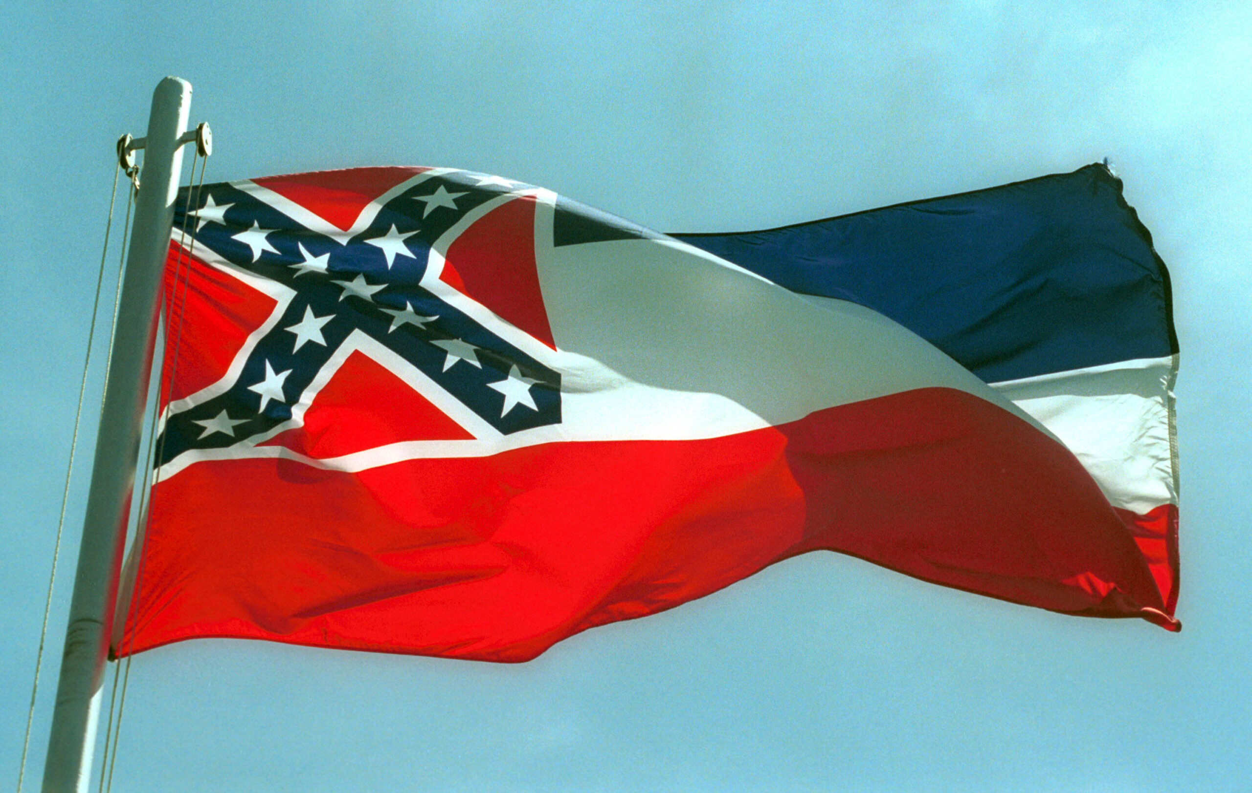 MS  votes to drop the Confederate emblem from its state flag