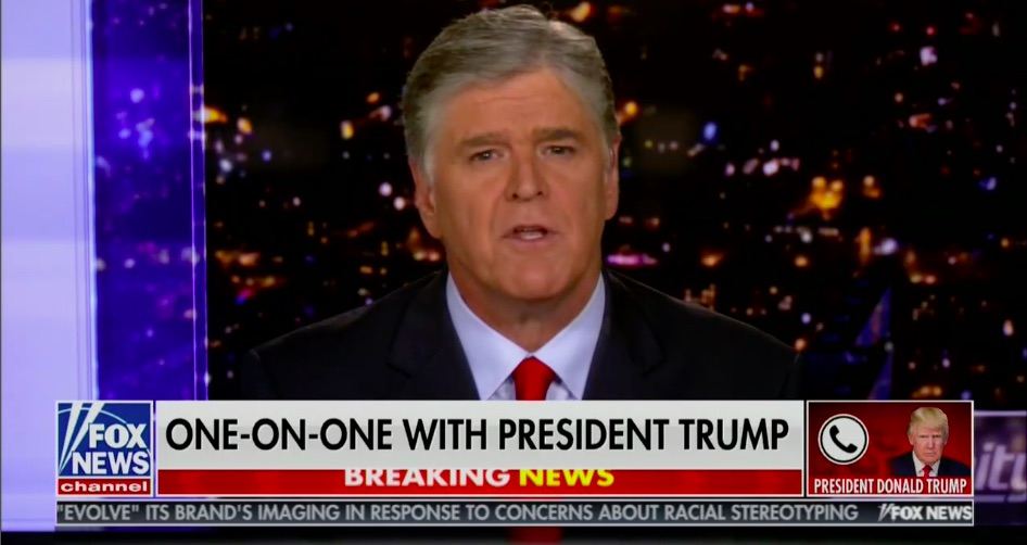Trump Interview Helps 'Hannity' Score Top-Rated Show on TV