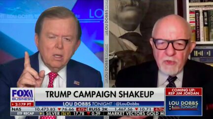 Lou Dobbs Shuts Down Ed Rollins Over Kellyanne Conway