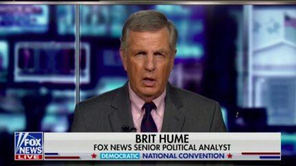 Brit Hume Calls Jill Biden 'Very Likable' Unlike Michelle Obama's 'Hard, Angry Edge'