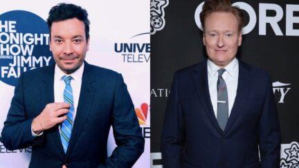 Conan O'Brien Jimmy Fallon